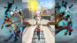 jeux android gratuit  Test   Spider Man Unlimited sur Android