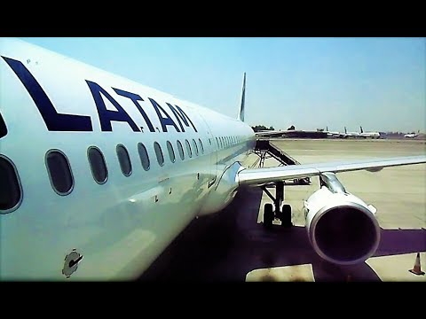 Boarding a brand new LATAM Chile Airbus A321 | Santiago Intl' Airport