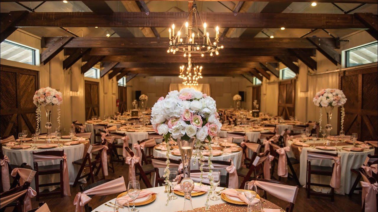 Glam Diy Wedding Full Reveal Glam Backdrop Surprises