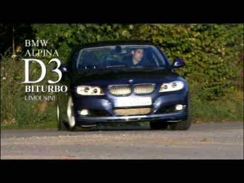 2008 BMW Alpina D3 Bi-Turbo promotional video