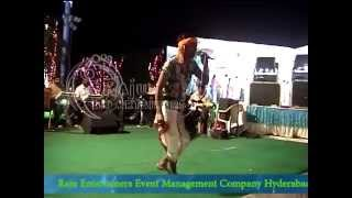ravi folk singer rela re rela with live orchestra from raju events 09246278112