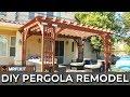 DIY Pergola Remodel