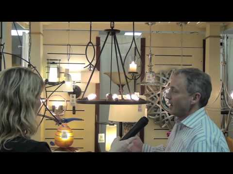 Charleston Lighting Interiors Interview At The 2012 Charleston Home Design Show Youtube
