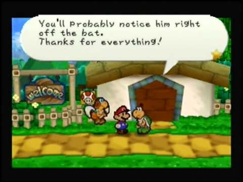 Let's Play Paper Mario Part 46: Chain Letter for a Lucky Day