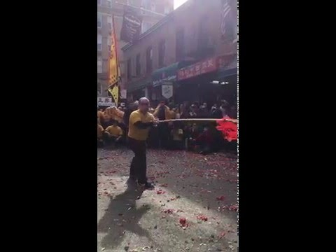 Yee's Hung Ga Lunar New Year 2016 Ng Lung Ba Gwa Cheung