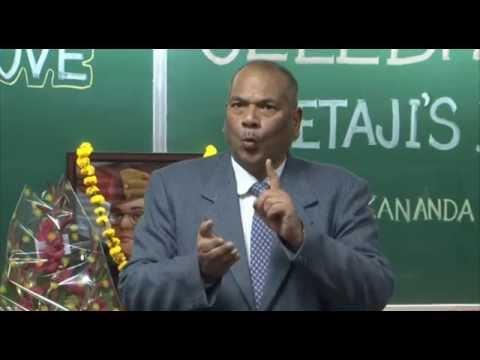 Dr. Vikram Singh on Netaji Subhash Chandra Bose at IIT Kanpur