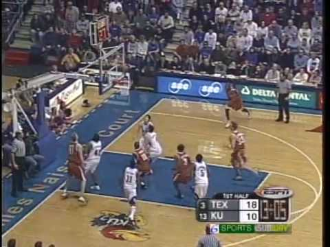 KUSports.com Jayhawk Flashback: Jan. 27, 2003 vs. Texas