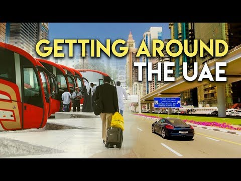 Getting around United Arab Emirates.  Public Transport.