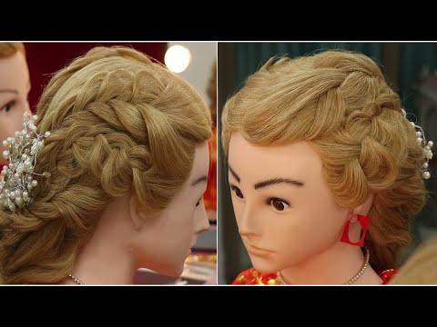 Updo hairstyles | Tutorial 6 | Pre-Wedding Hairstyle | Mehndi Rasam Hairstyle