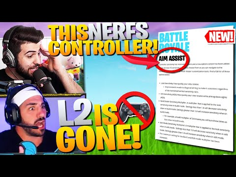 The REAL Reason Controller L2 Aim Assist Is REMOVED! (Fortnite Battle Royale)