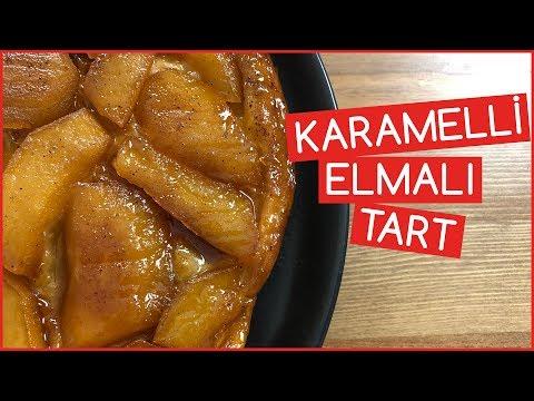 Karamelli Elmalı Tart Tarifi | Lale Çorumlu | Yemek Tarifleri