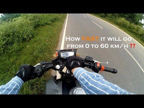 Apache RTR 200 4V - The 2nd FASTEST 0-60 km/h (3.6 seconds) sprinting bike in 200 cc segment.