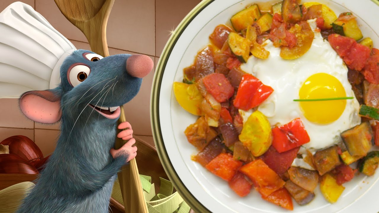 Ratatouille Remy Cooking Remy's Ratatouille wit...