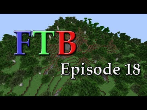 Minecraft: FTB Ep. 18 - Electrical Engines and Solar Expansion