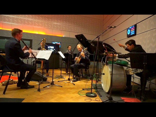 The Vitality Five : 'Clarinetitis' [live on BBC Radio 3]