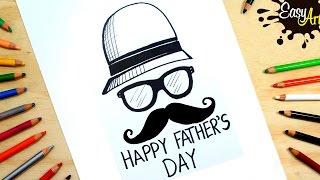 Como hacer una tarjeta dia del padre │how to make Father