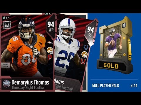I PULLED 2 LIMITEDS!! OVER 1 MILLION COIN PACK OPENING | Limited Timed Mike Adams & Demaryius Thomas