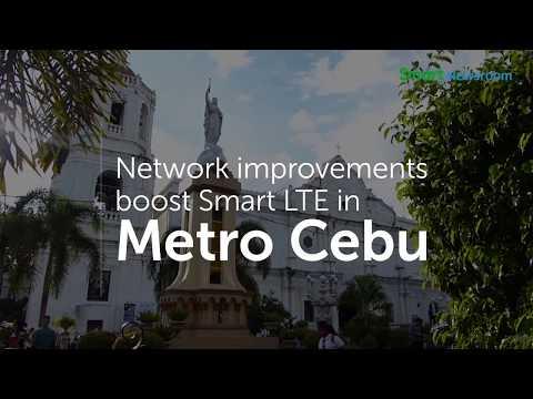 #ConnectedCebu: Smart boosts LTE in Cebu