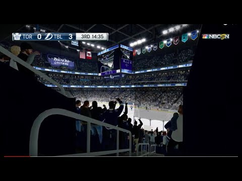NHL® 18 Beta Leafs at Lightning Part 2