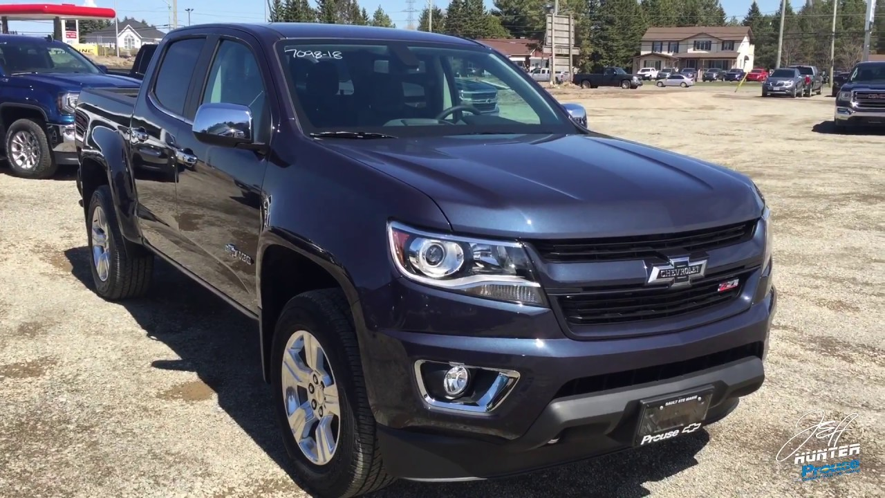 2018 chevrolet colorado centennial edition z71