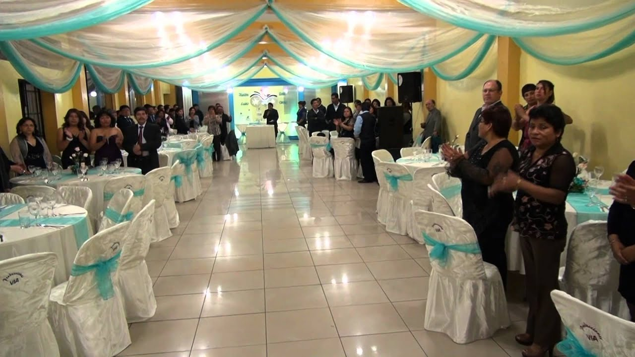Decoracion para matrimonio youtube - Adornos boda civil ...