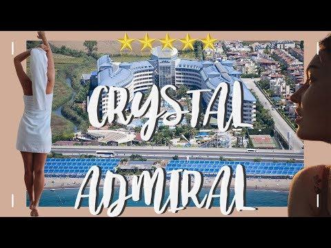 ОБЗОР ОТЕЛЯ CRYSTAL ADMIRAL RESORT SUITES & SPA 5*, как меня спасли в отеле.