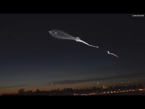 Над Землей распыляют газ делающий из людей зомби!Очевидец снял НЛО на камеру!