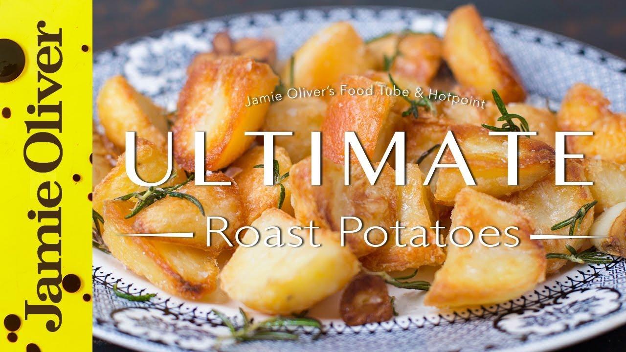 The Ultimate Roast Potatoes | Gizzi Erskine - in 2K - YouTube