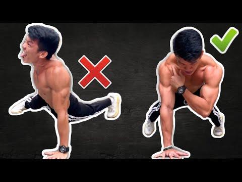 Hướng dẫn HÍT ĐẤT MỘT TAY – Hướng dẫn tập ngực với hít đất một tay – One arm Push up Tutorial.