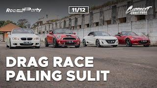 CABRIOLET CHALLENGE: DRAG RACE PALING SULIT (11/12)