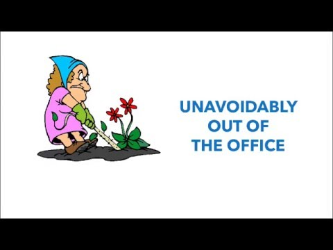 Outlook 2013 out of office vacation auto email reply youtube - Out of office outlook 2013 ...