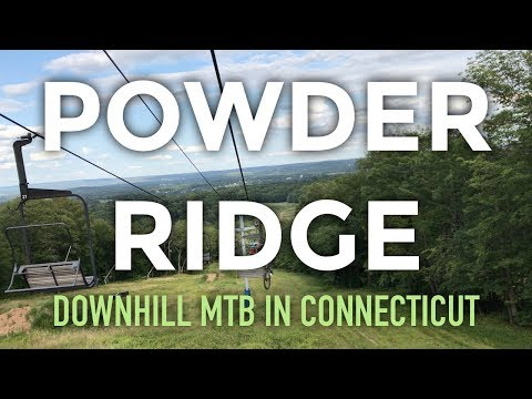 Downhill MTB in Connecticut??? What you'll find at Powder Ridge in Middlefield, CT