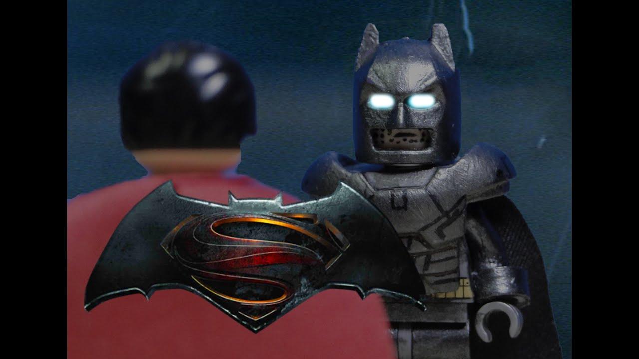 Lego Batman V Superman Armor Suit Showcase