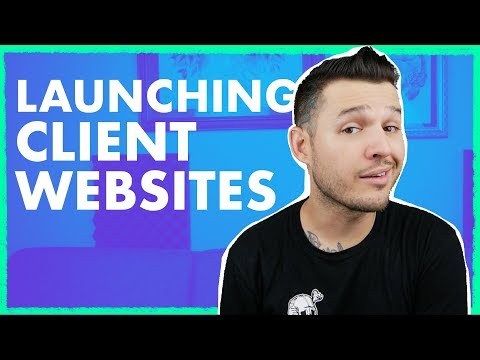 Launching Websites for Clients | Website Launch List