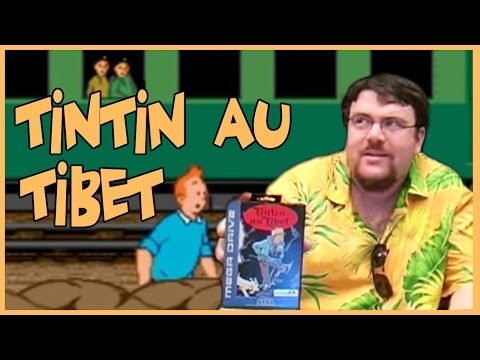 Joueur du grenier - Tintin au Tibet - Megadrive
