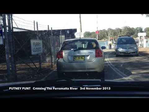 Putney Punt     Crossing The Parramatta River