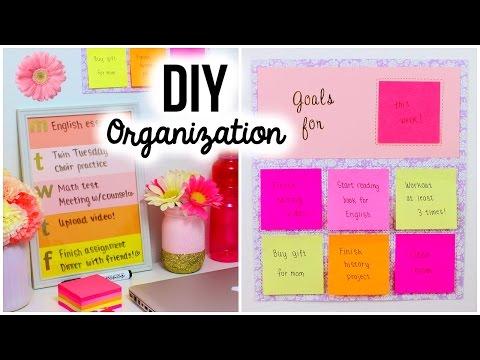 Back To School DIY: Organization & Room Decor!