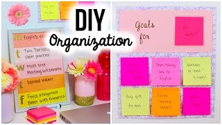 Back To School Diy: Organization & Room Decor!