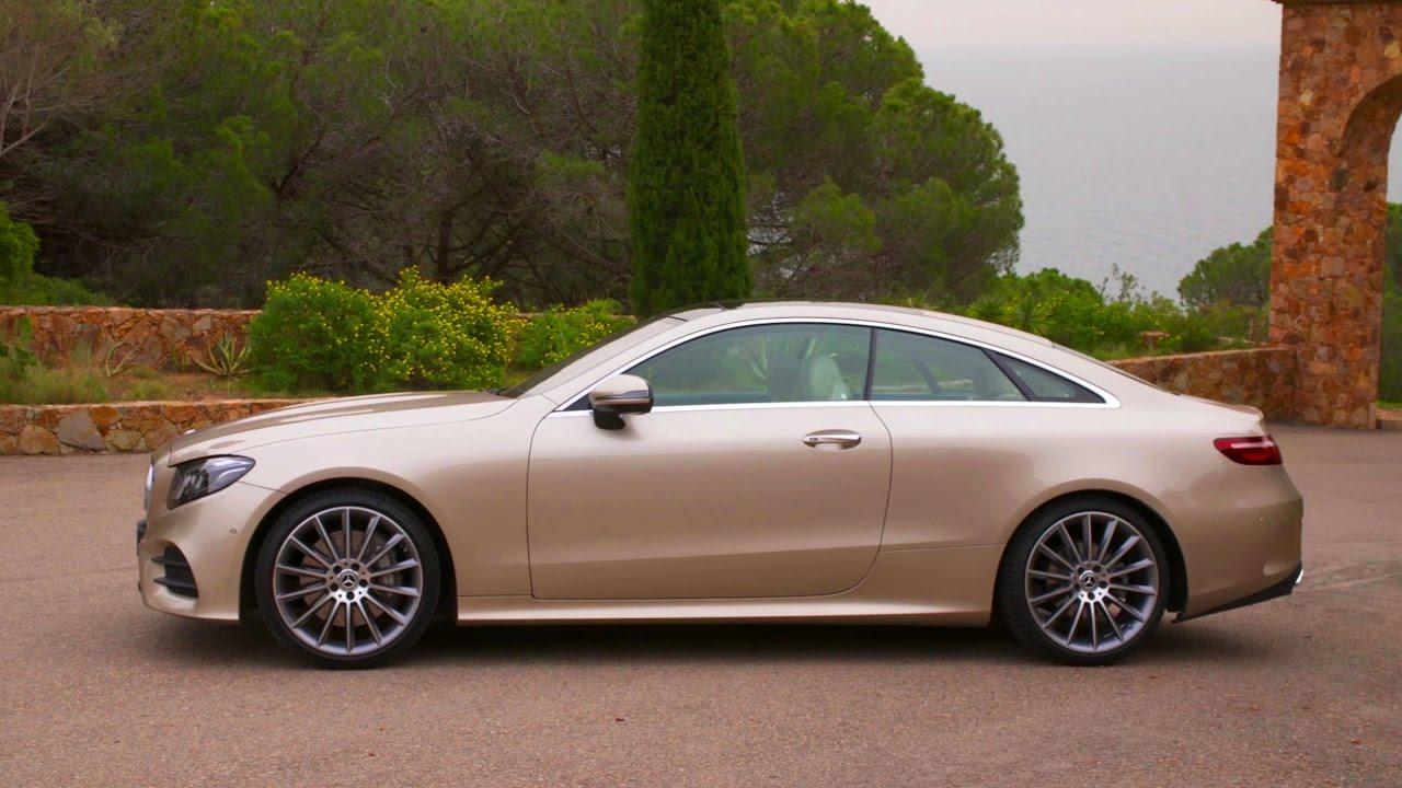 E Class E300 Coupe C238 Design And Driving Scenes Youtube