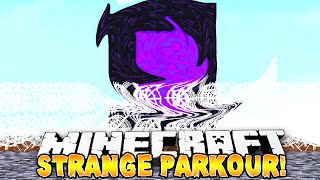 Minecraft - STRANGE PARKOUR?! - w/ Preston & Lachlan!