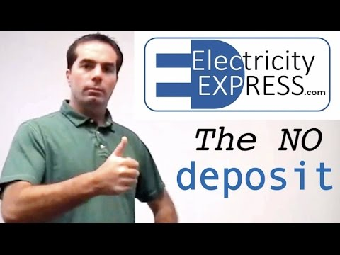 Electricity best tip, No Deposit. Prepaid Energy Services