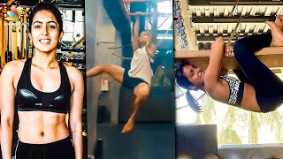 FULL VIDEO: 'COMALI' ACTRESS TURNS NINJA! | Samyuktha Hegde Workout, Jayam Ravi | Hot Tamil News