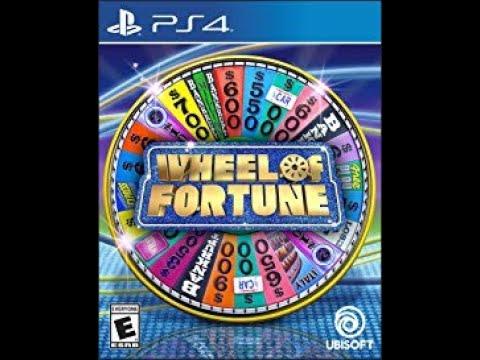 PS4 Wheel of Fortune ORIGINAL RUN Game #1