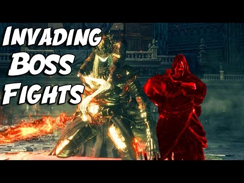 Invading BOSS FIGHTS & BOSS ROOMS In Dark Souls 3! (Xbox One)