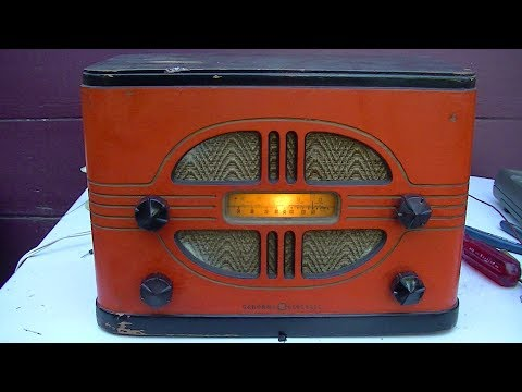 GE E50 Vintage Radio Repair