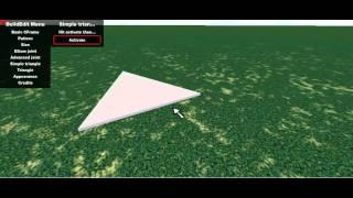 ROBLOX BuildEdit Simple triangle plugin