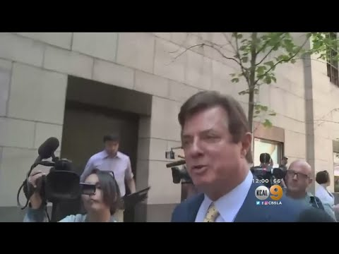 Trump's Ex-Campaign Manager Manafort Pleads Not Guilty To Charges In Russia Probe
