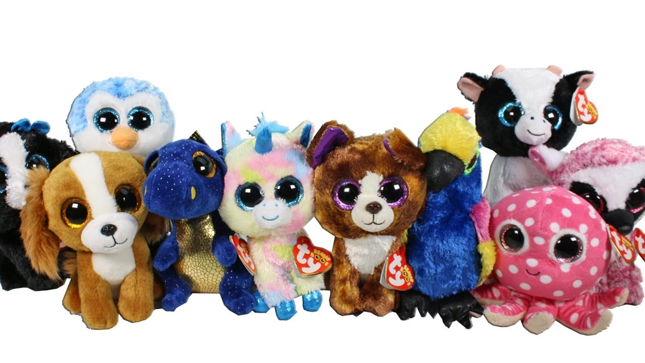 4a7a3d0c2b6 BRAND NEW Beanie Boos Haul from the TY Store Unboxing Toy Review TY Beanie  Boo Plush