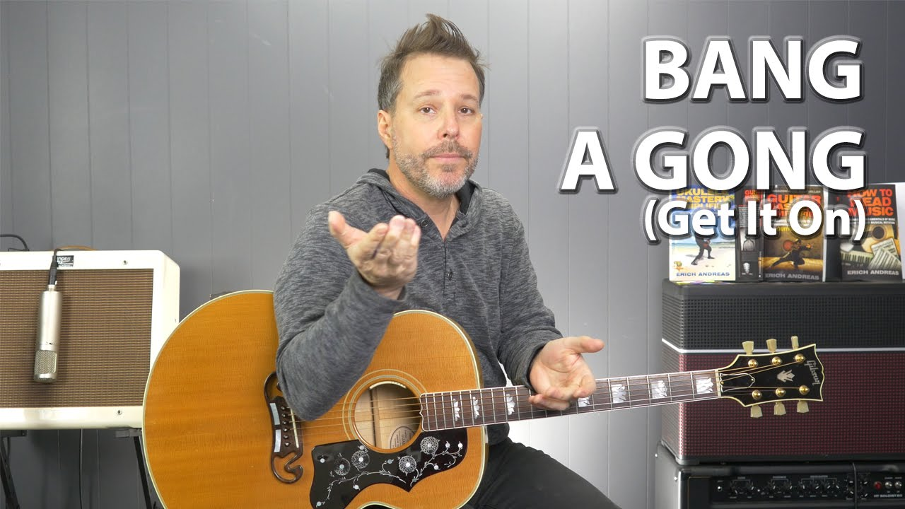 how to play bang a gong get it on by t rex guitar lesson youtube. Black Bedroom Furniture Sets. Home Design Ideas