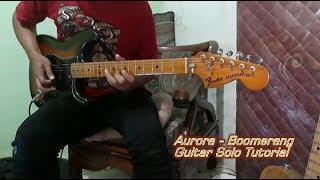 Aurora Boomerang guitar solo tutorial
